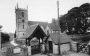 Bladon, St Martin's Church c.1960
