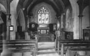 Bladon, St Martin's Church Interior c.1960
