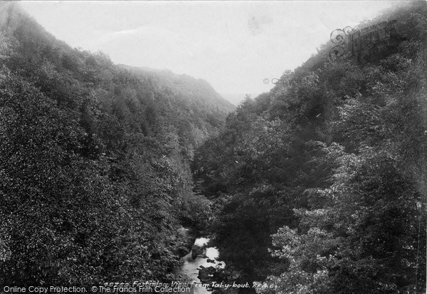 Blaenau Ffestiniog, Cynfal River From Talybont 1901