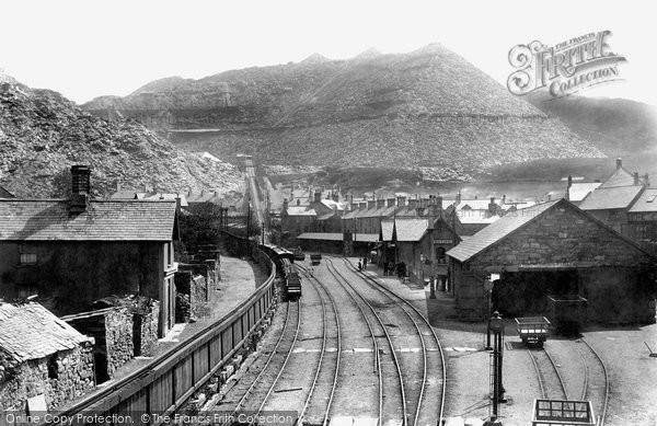 Blaenau Ffestiniog, Duffws Station 1901