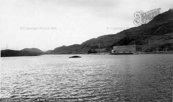Blaenau Ffestiniog, Lower Dam And Power Station c.1960