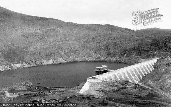 Blaenau Ffestiniog, Stwlan Dam And Gate House c.1960