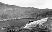 Blaenau Ffestiniog, Stwlan Dam And Gate House c.1965