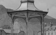 Blaenau Ffestiniog, The Park Bandstand 1961
