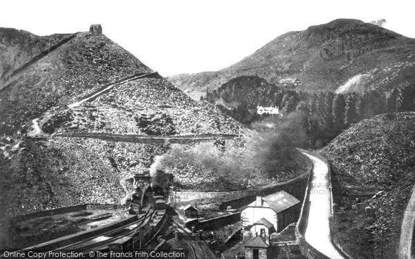 Blaenau Ffestiniog, The Quarries And L.N & W Big Tunnel c.1935