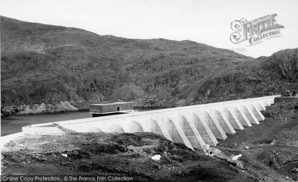 Blaenau Ffestiniog, The Top Dam c.1960