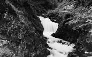 Blaenau Ffestiniog, Water Falls c.1930