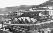 Blaengwynfi, Station, School And Workmen's Hall 1938