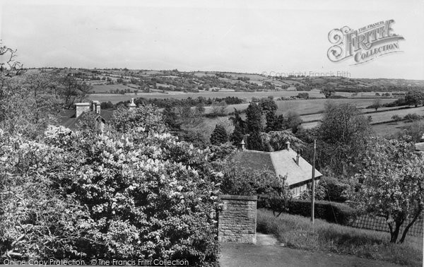 Blagdon, Lake From Coombe Lodge c.1960