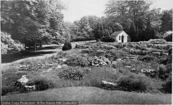Blagdon, The Rockery, Combe Lodge c.1960