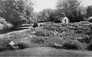 Blagdon, The Rockery, Combe Lodge c.1960