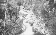 Blair Atholl, On The Bruar Below The Falls c.1890