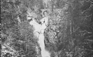 Blair Atholl, Upper Falls Of Bruar c.1890