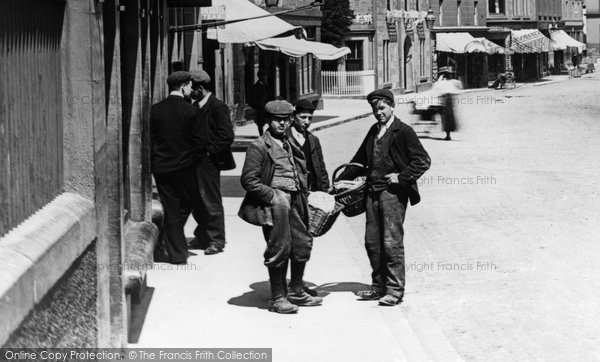 Blairgowrie, Boys In The High Street c.1900
