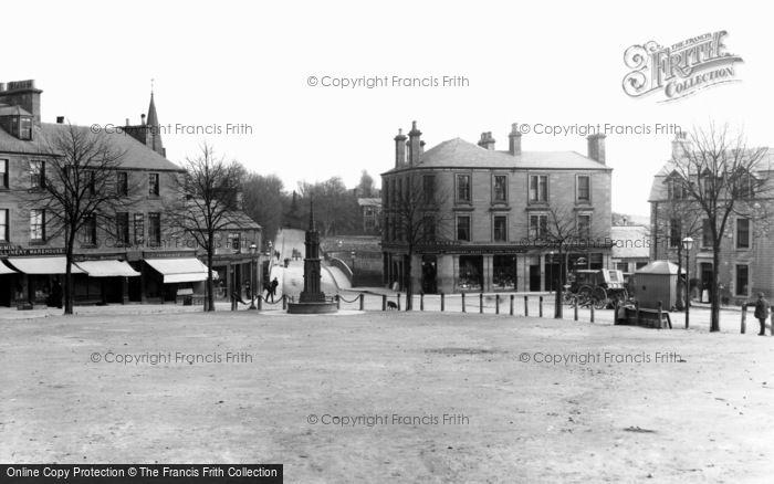 Blairgowrie, Wellmeadow And Bridge c.1900