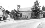 Blakeney, High Street and All Saints Church c1955