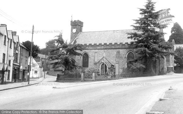 Photo of Blakeney, High Street and All Saints Church c1955
