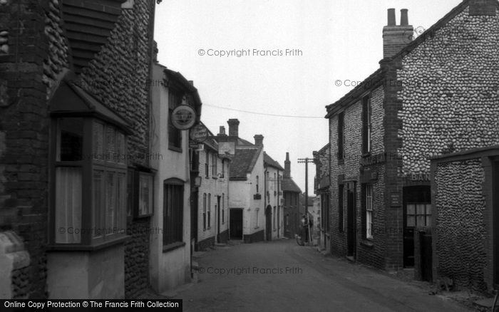 Blakeney, Post Office Corner c.1950