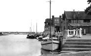 Blakeney, Quay Looking East c.1955
