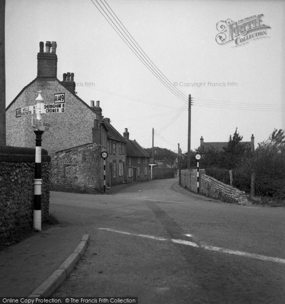 Blakeney, The Cross Roads c.1950