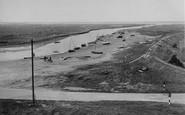 Blakeney, The Embankment From Mariner's Hill c.1955