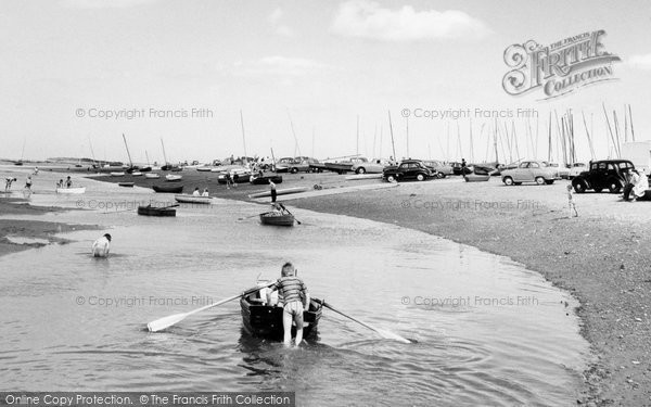 Blakeney, The Estuary c.1965