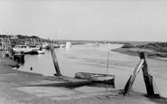 Blakeney, The Harbour c.1965