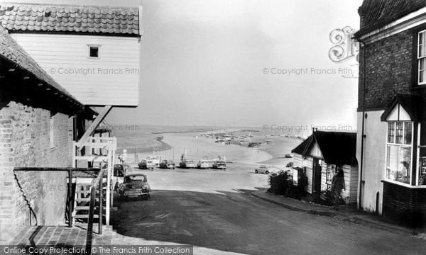 Blakeney, The Harbour From The High Street c.1965