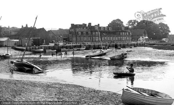 Blakeney, The Quay c.1955