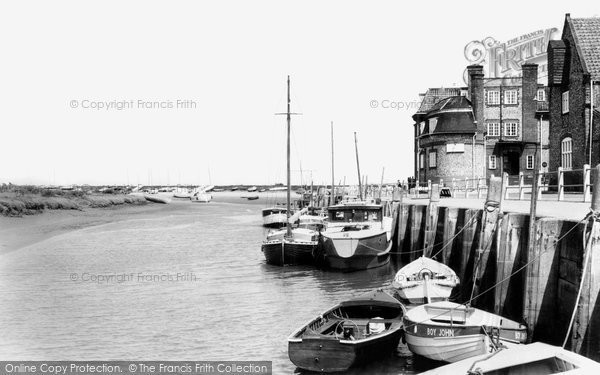Blakeney, The Quay c.1965