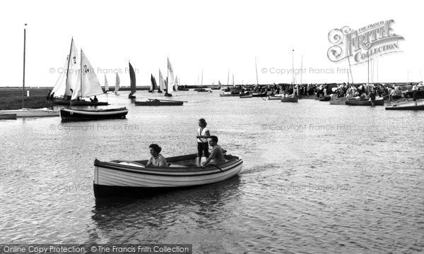 Blakeney, The Regatta c.1955