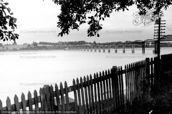 Blakeney, The Severn Railway Bridge c.1950