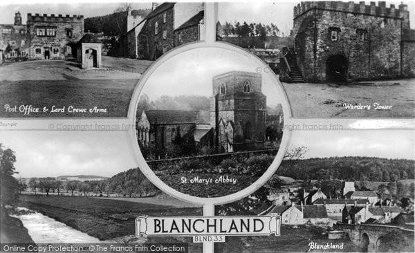 Blanchland, Composite c.1935