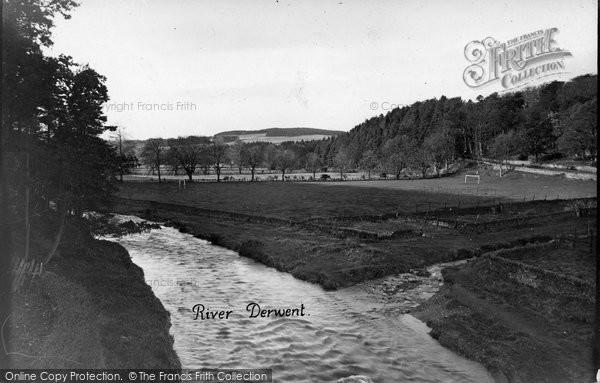 Blanchland, River Derwent c.1935