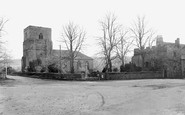 Blanchland, St Mary's Church And Dorothy Forsters Tower c.1935