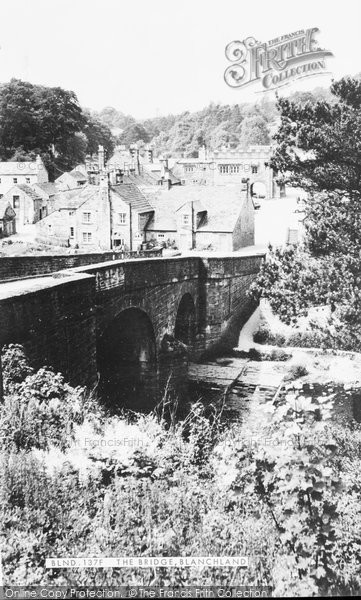 Blanchland, The Bridge c.1955