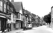 Blandford Forum, East Street c.1955