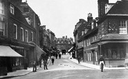 Blandford Forum, Salisbury Street c.1900