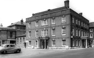 Blandford Forum, the Crown Hotel c1955