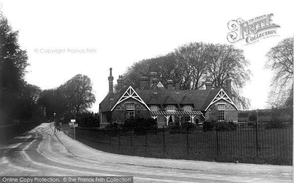 Blandford Forum, The Hospital c.1900