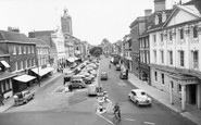 Blandford Forum, the Market Place  c1960