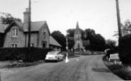 Blendworth, School And Holy Trinity Church c.1955