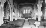 Bletchingley, Church Interior 1906