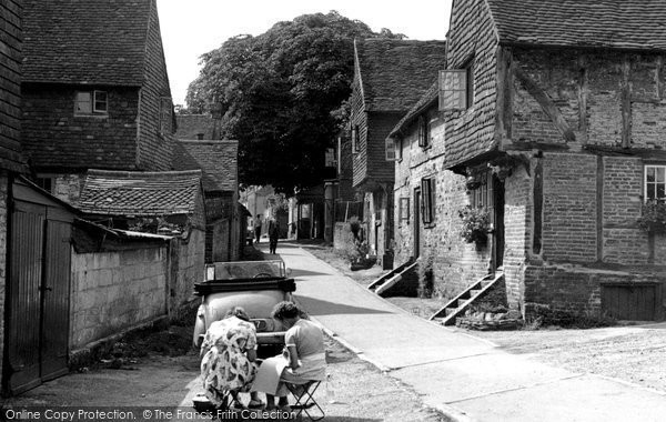 Bletchingley, Church Lane c.1955