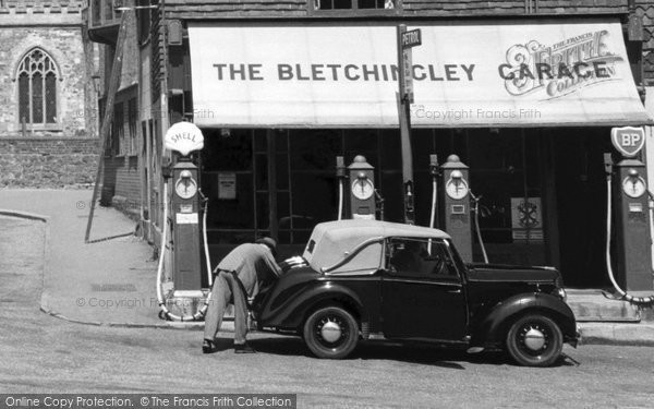 Bletchingley, Garage c.1955
