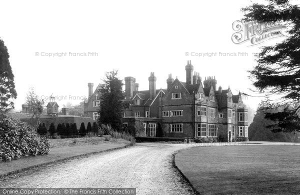 Bletchingley, Pendell Court c.1955