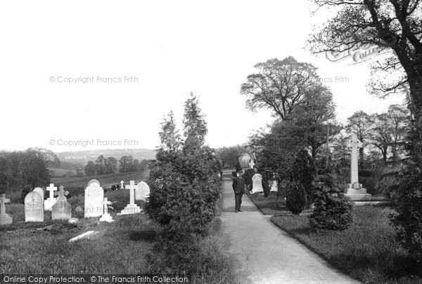 Bletchingley, The Cemetery 1907
