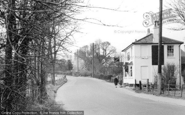 Bletchingley, The Plough Inn c.1955