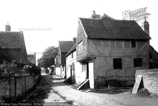 Bletchingley, The Village 1886