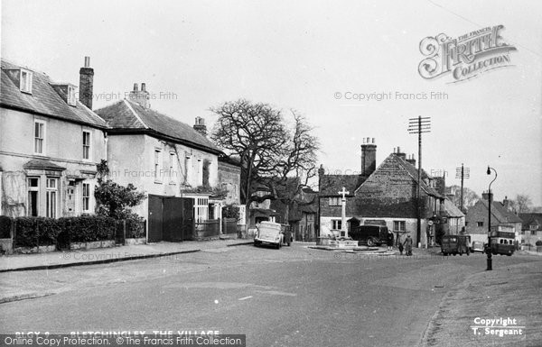 Bletchingley, The Village c.1955